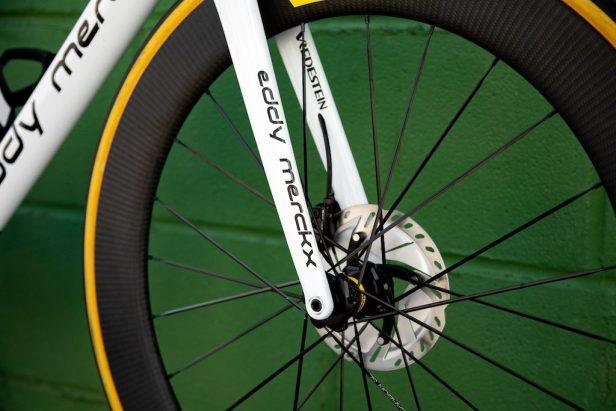 fourche de l'Eddy Merckx 525 Vélos Équipes Pros 2020