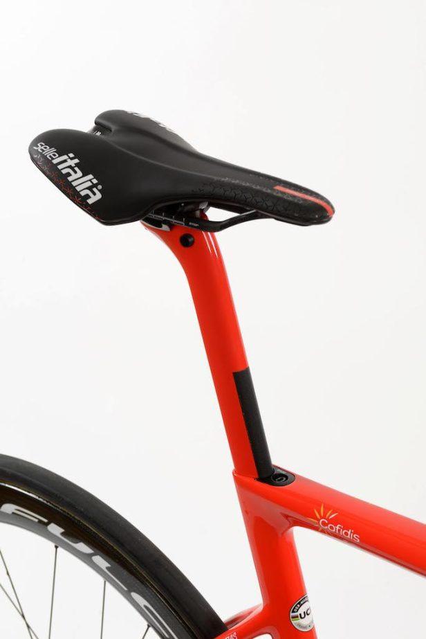 tige de selle De Rosa Merak de l'équipe Cofidis Vélos Équipes Pros 2020