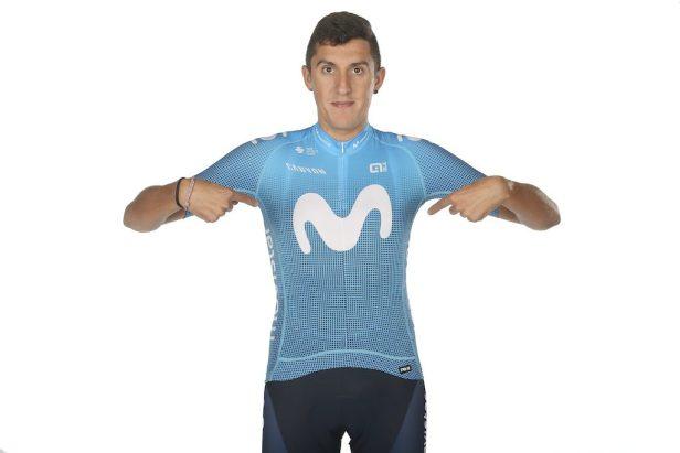 Marc Soler en maillot Movistar Team