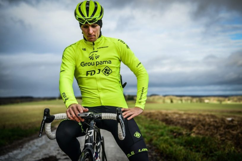 Maillot Fluo ALE Groupama FDJ