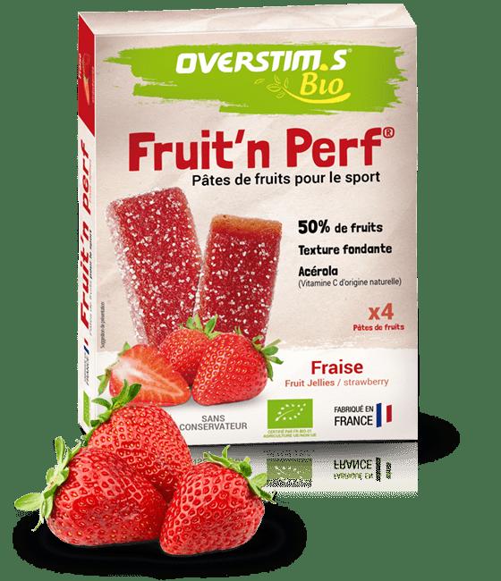 Overstim's Fruit'n Perf Bio Fraise
