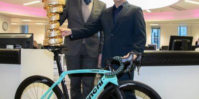 Bianchi Sponsor du Giro pour trois ans