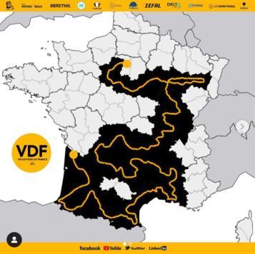 Vélodyssée de France