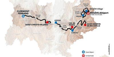 Carte du Dauphiné 2020