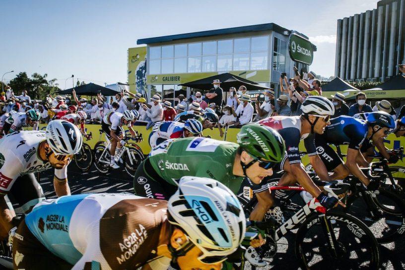 Caleb Ewan Poitiers Tour 2020 le sprint