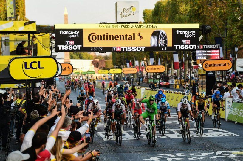 Bennett Champs-Élysées Paris Tour de France