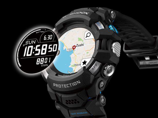 2021 G-Shock GSW-H1000 montre connectée