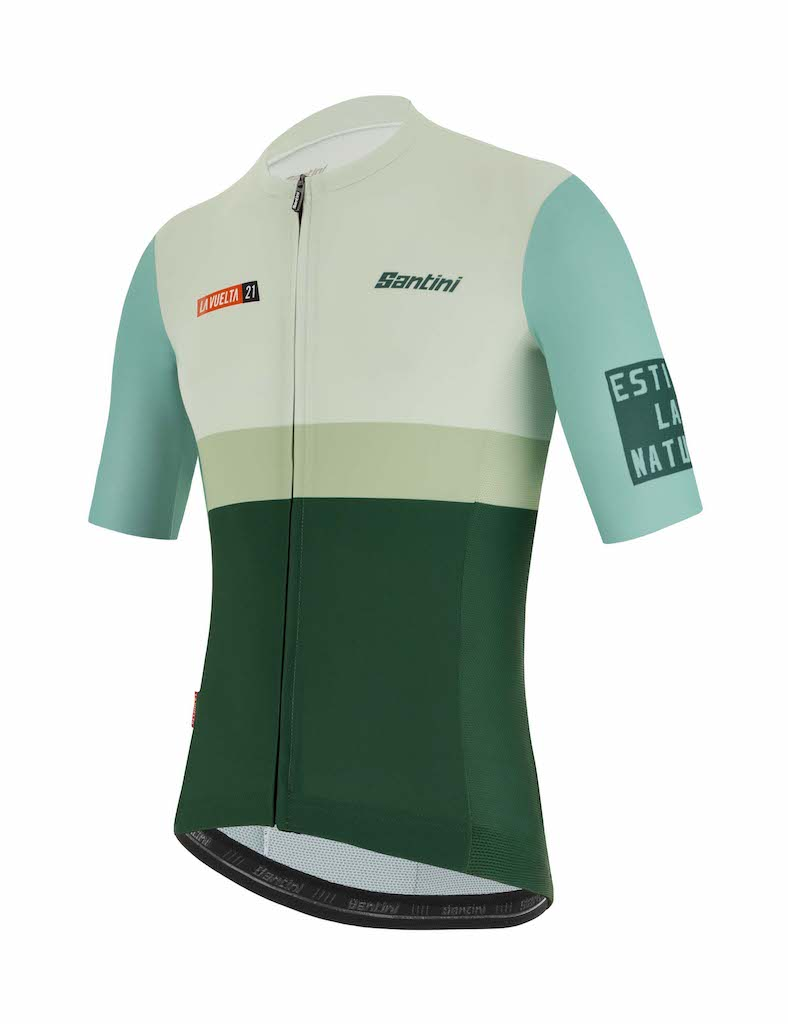 Maillots Santini Vuelta 2021
