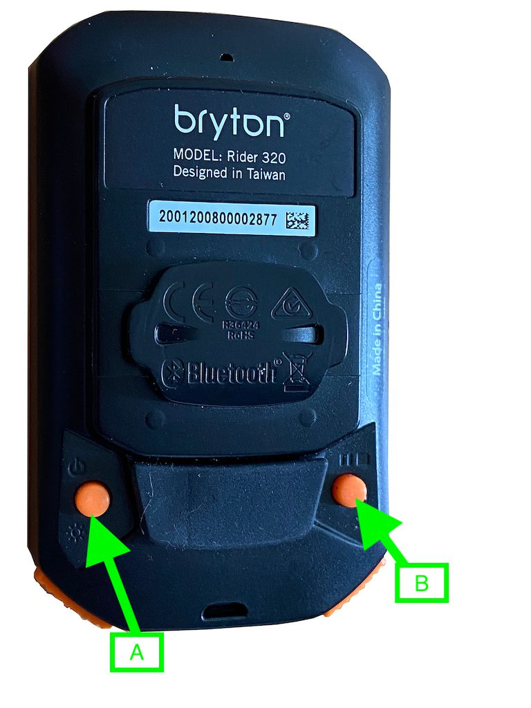 2021 Bryton Rider 320