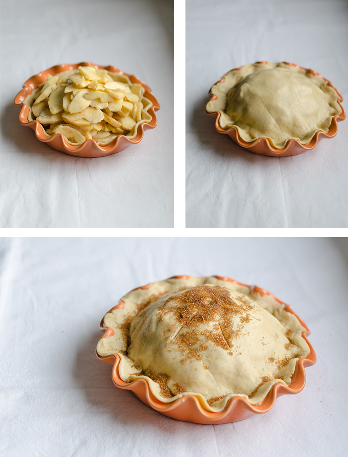 Tarta de Manzana, pastel de manzana, apple pie