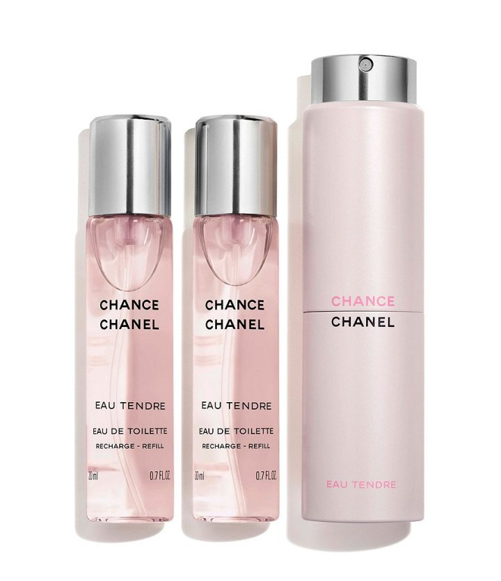 Chanel Chance Eau Tendre De Toilette Twist And Spray