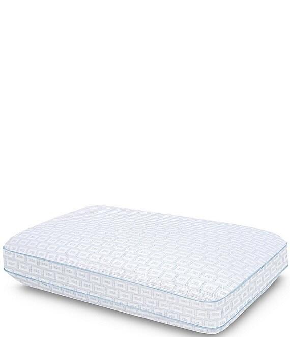 sensorpedic sensorcool gel infused elite cooling memory foam pillow