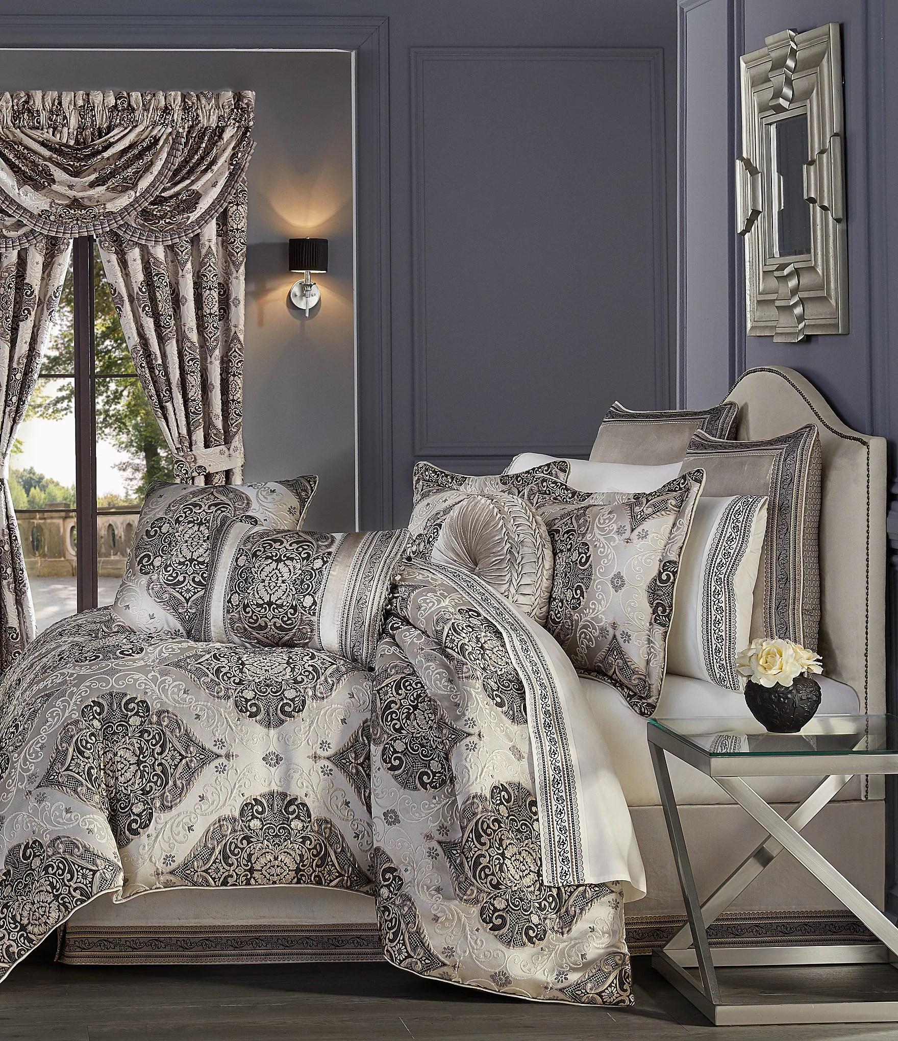 j queen new york vera jacquard damask comforter set dillard s
