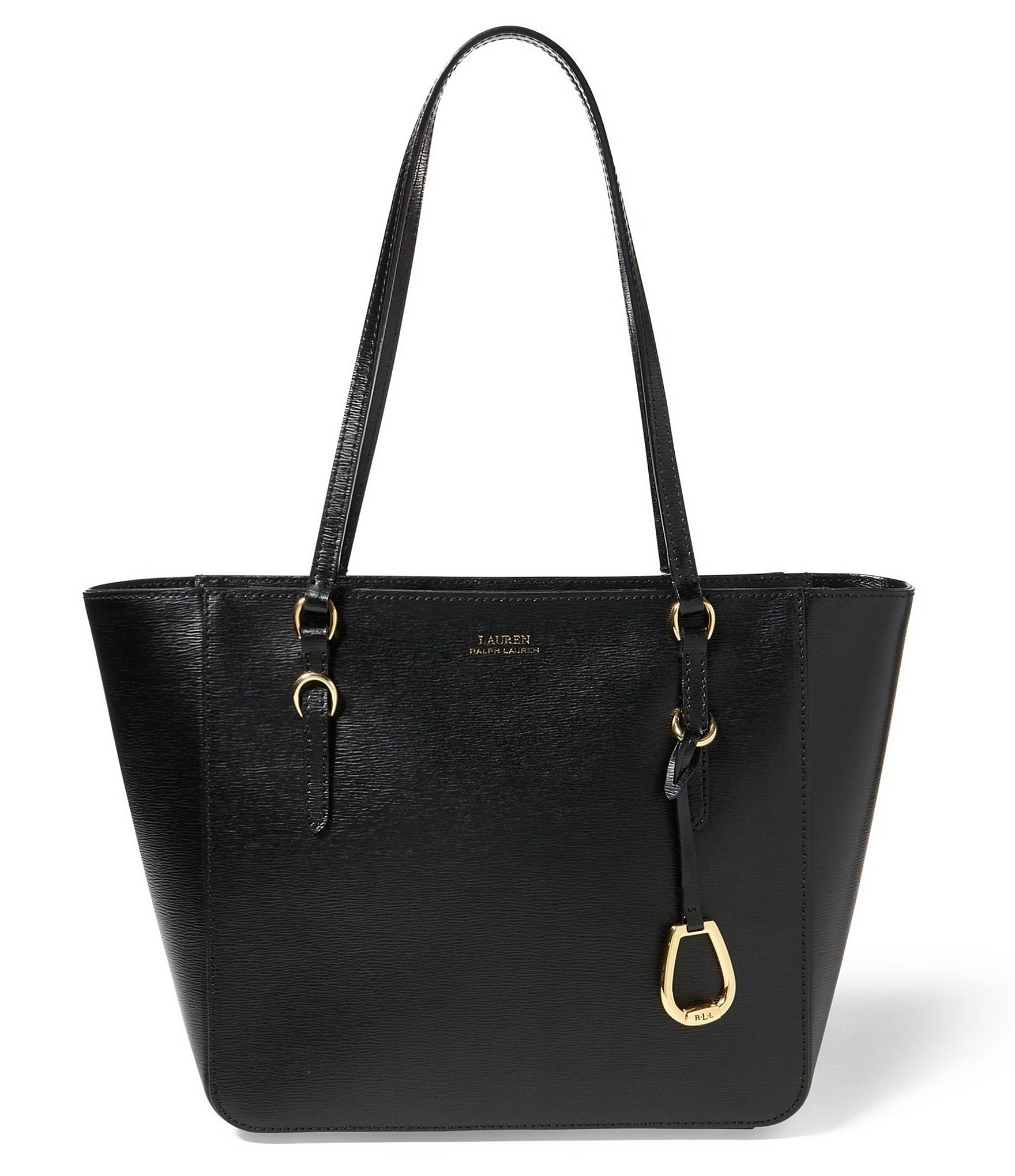 Lauren Ralph Lauren Bennington Leather Shopper Bag Dillards