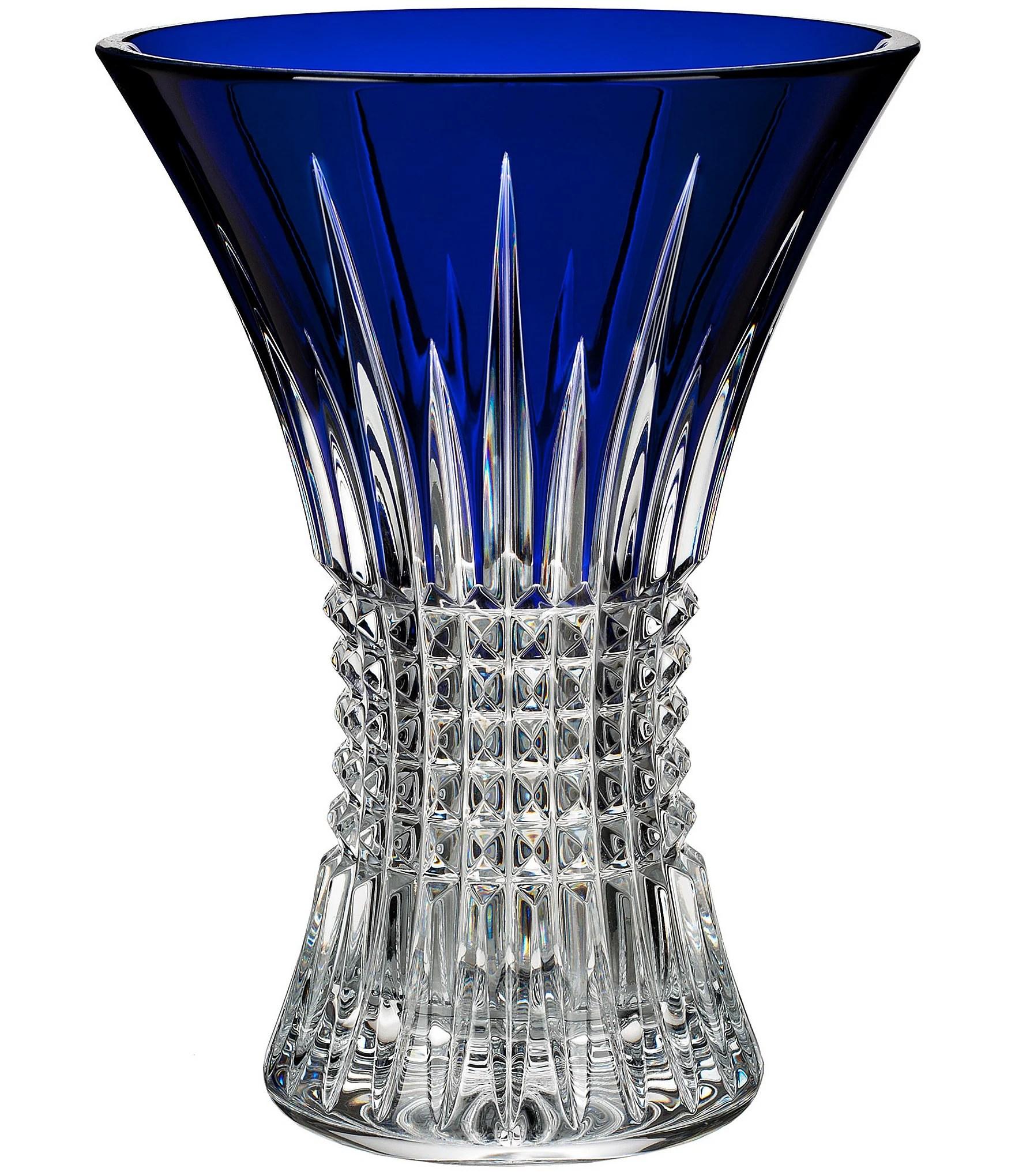 Waterford Lismore Diamond Crystal Vase Dillards