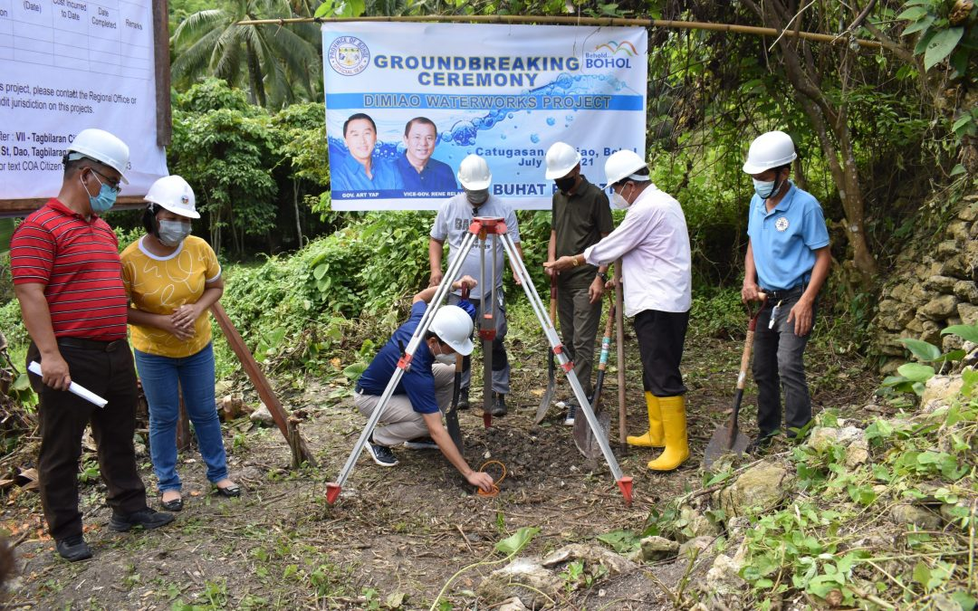 """""""YAP AND ANG BREAK GROUND FOR"""