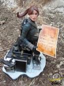 Lara Croft Snow Day