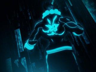 Tron-ified Akuma
