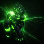 Look mommy! It's a glowing Akuma!