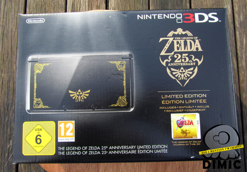Legend of Zelda 25th Anniversary - Special 3DS Bundle