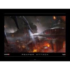 BioWare - Mass Effect 3: Reaper Attack lithograph