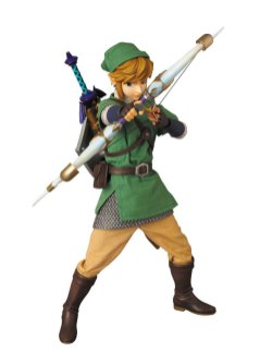 "Medicom - Real Action Heroes No.622 Link from ""The Legend of Zelda: Skyward Sword"""