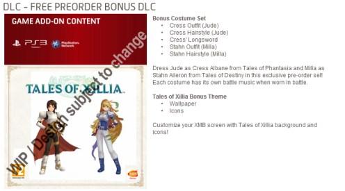 Namco - Tales of Xillia