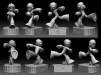 First 4 Figures - Mega Man/Rockman: Mega Man (tease)