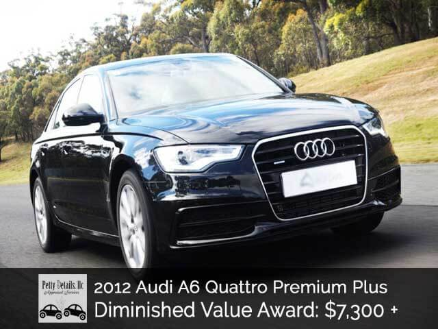 Audi A6 Diminished Value Success in Dallas!