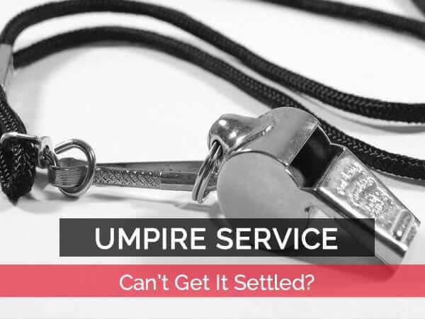 umpire service