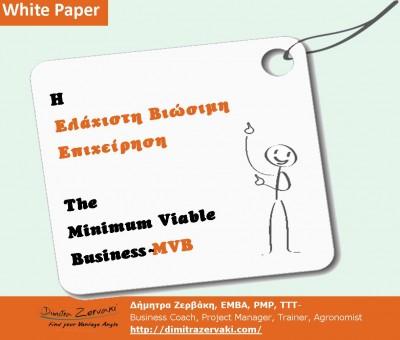Minimum viable business promo