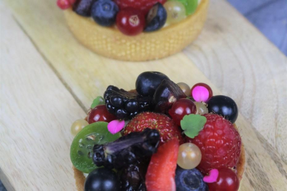 Recette tarte fruits rouges