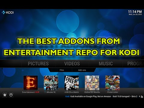 Entertainment Repo For KODI, Online Movies, TV Shows, IPTV & Adult XXX