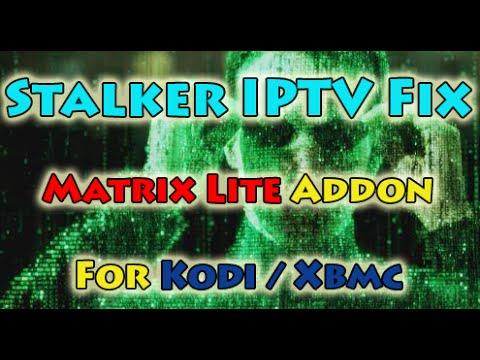 Matrix Lite IPTV, All the Stalker channels fully working! (STALKER FIX)