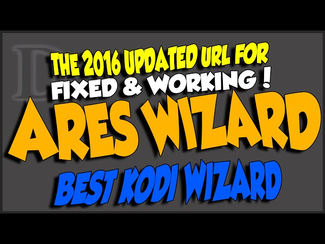 Ares Wizard New Url Fixed & Working 2016 Edition