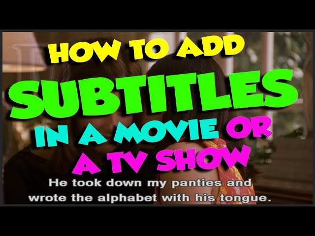 How to add subtitles in a movie or tv shows in automatic with how to add subtitles in a movie or tv shows in automatic with subtitles addon and kodi autosubs ccuart Image collections