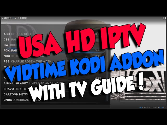 Fantastic USA IPTV Live TV in HD quality with TV guide by
