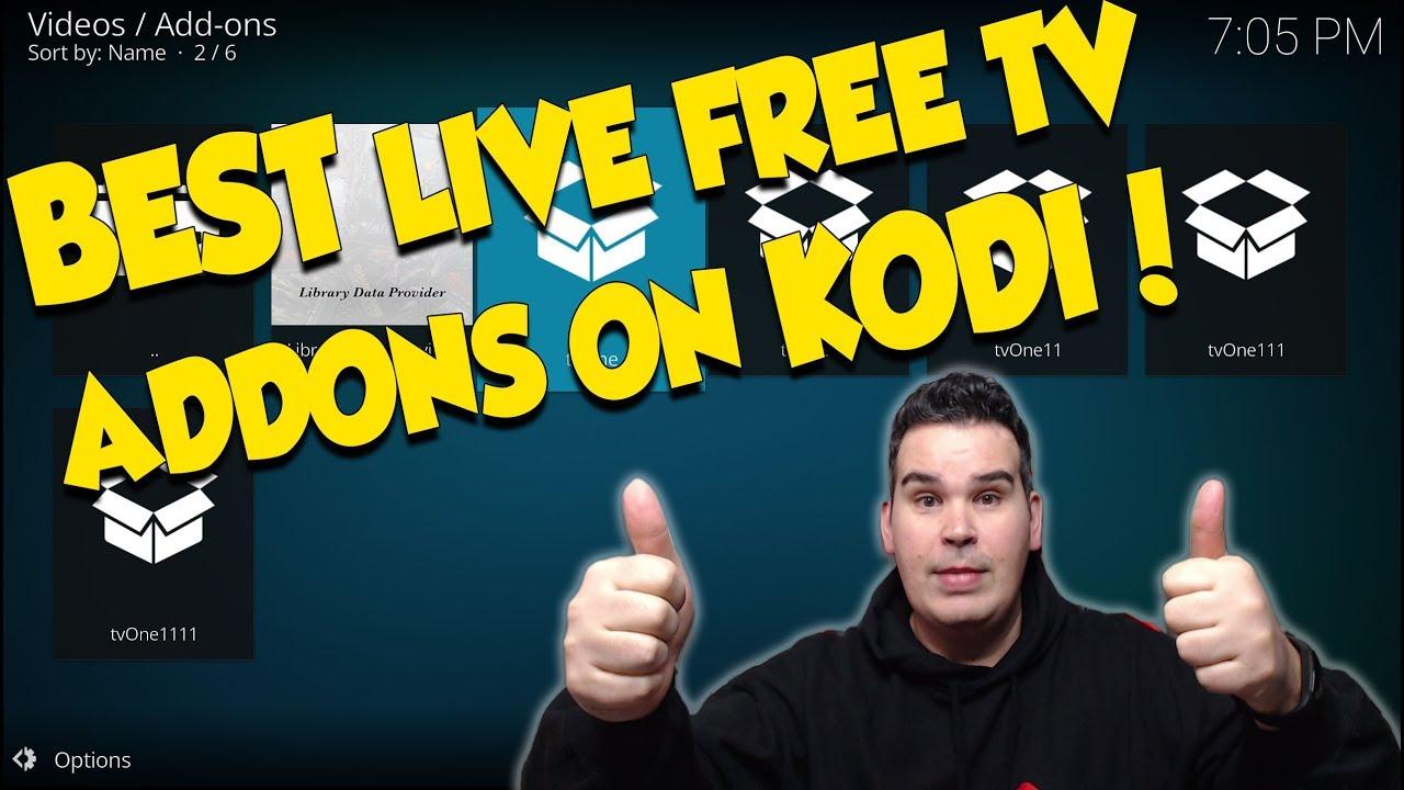 HOW TO INSTALL ALL TVONE ADDONS ON KODI - BEST LIVE TV KODI ADDONS