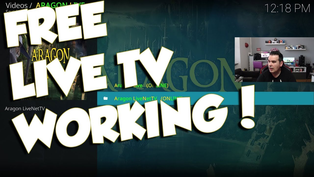 FREE LIVE TV KODI 2018 ADDON THAT WORKS !!