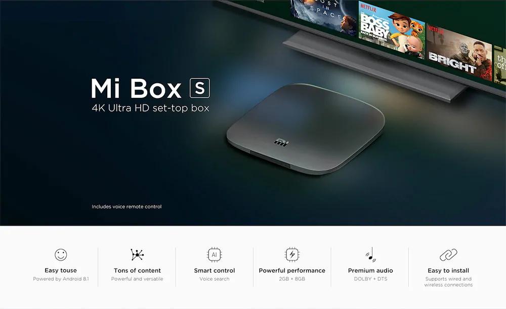 Xiaomi Mi Box S pre-order sale!