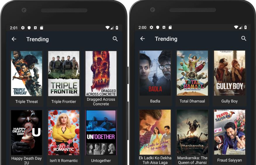 Bollywood & Hollywood Movies With Sofa TV Free Movie App