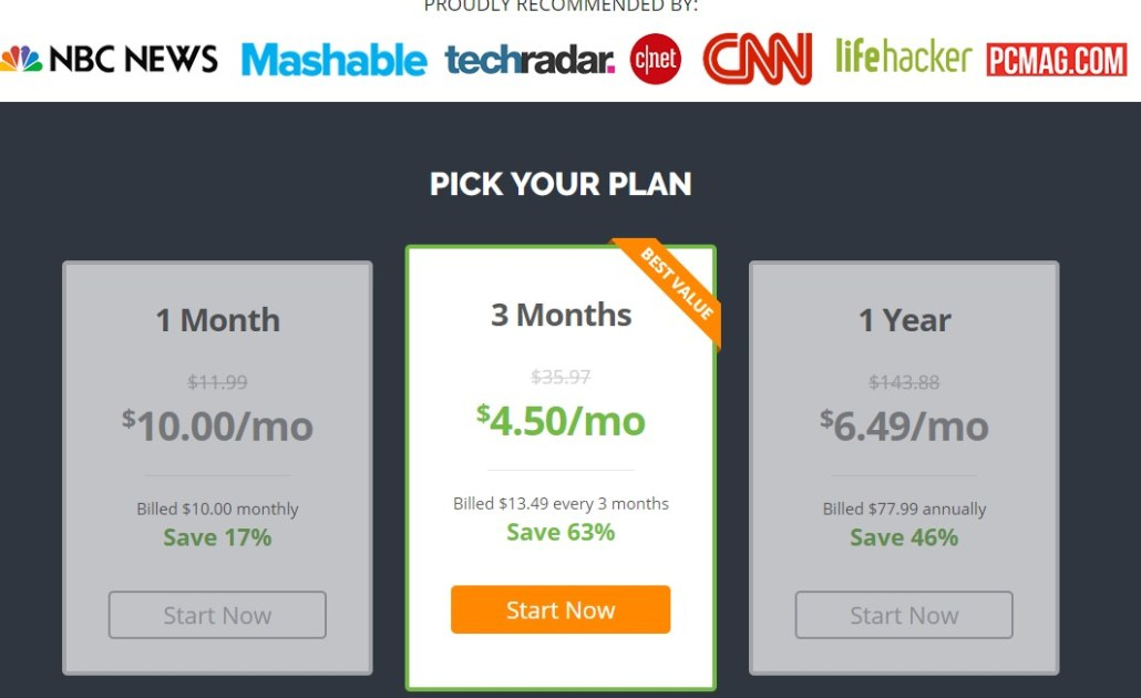IPVanish lifetime discount offer