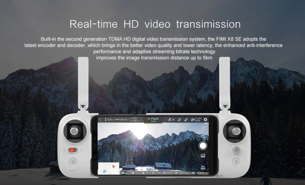 The FIMI X8 SE drone from Xiaomi on Sale With Coupon 1