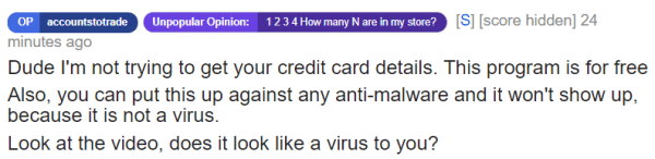 Scammer Targets Reddit Users With Premium Account Racket