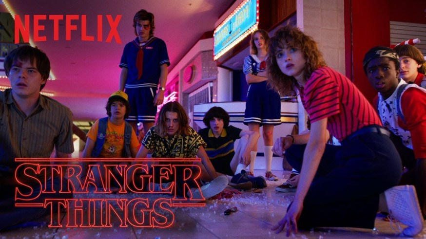 Best TV Series On netflix Stranger Things