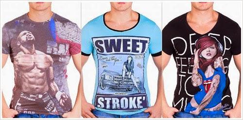 Мъжките тениски са навсякъде около нас