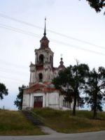 Церковь св.Димитрия Ростовского в пос. Кажим