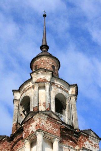 Колокольня церкви св.Димитрия Ростовского в пос. Кажим