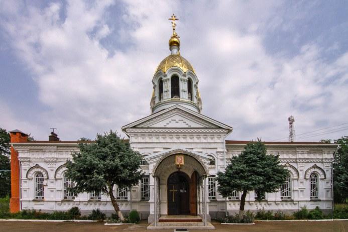 Церковь св.Димитрия Ростовского Петропавловской станицы Курганинского района Краснодарского края