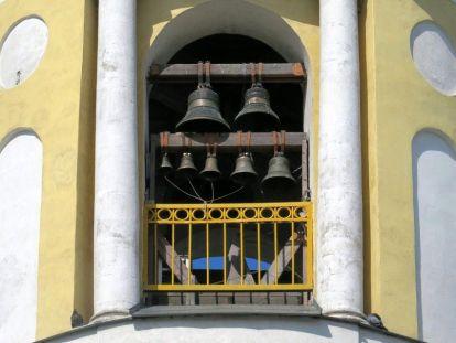 Колокольня церкви свт. Димитрия Ростовского Свято-Екатерининского монастыря